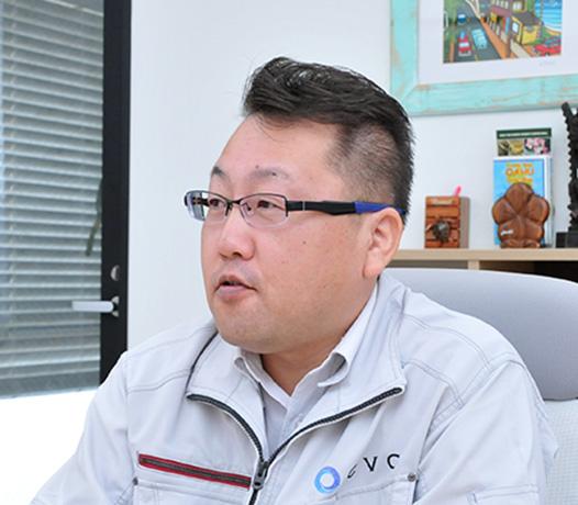 第1管理部 課長(仮)増渕 崇廣